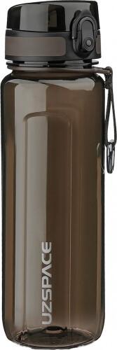 Пляшка для води UZSPACE U-type 6019 750 мл, чорна