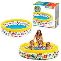 """Детский надувной бассейн Intex 58439 """"Геометрия"""""""