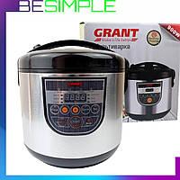 Мультиварка GRANT CN 202 5 л | пароварка (12 программ) | скороварка | рисоварка