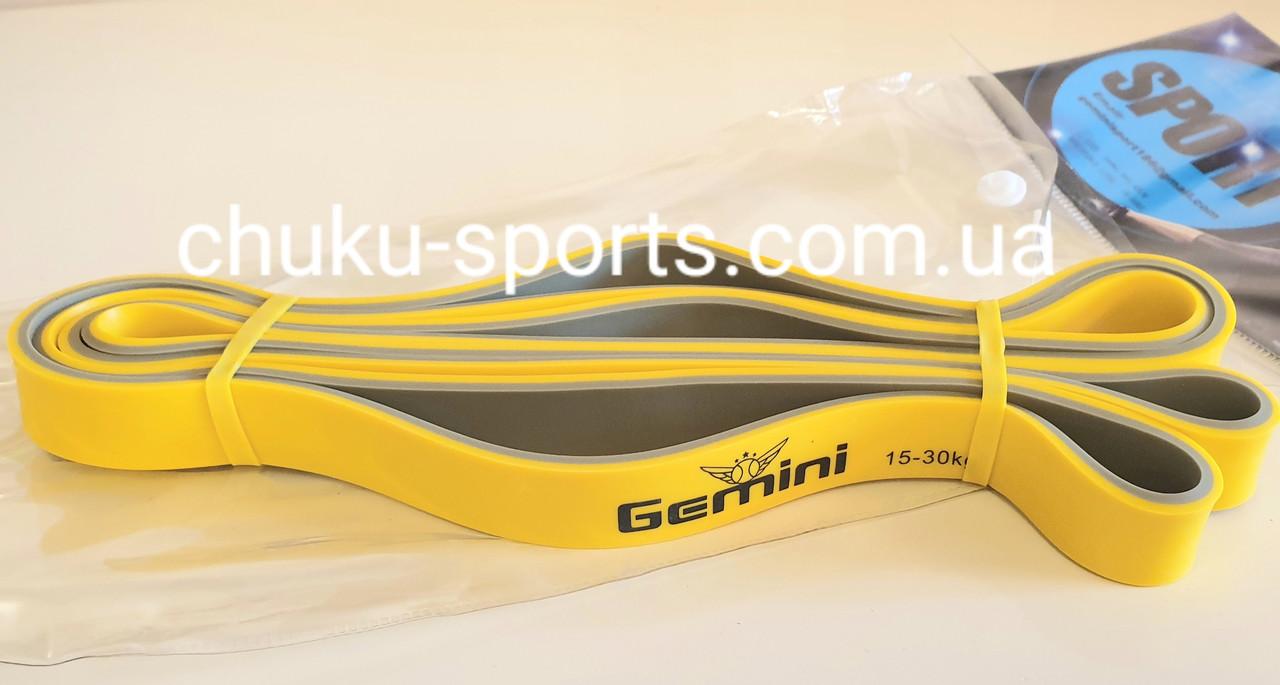 Петля эспандер лента для тренировок подтягиваний фитнеса ширина 1.9 см нагрузка 15-30 кг Gemini