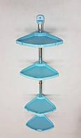Полка для ванной Primanova N12 голубая