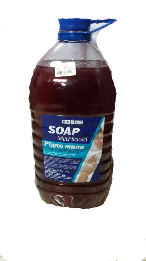 Жидкое мыло Donat  Soap цветы,5л