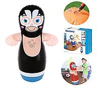 """Надувная игрушка фигура """"Неваляшка"""" для плавания, игр в воде, для боксирования """"Борец"""" 91 см"""