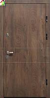 Дверь входная Министерство дверей металл/МДФ ПК-185 Элит Спил дерева коньячный/медовый двери бронированные