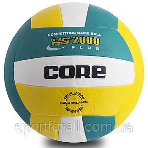 М'яч волейбольний PU CORE HS-2000 PLUS ( №5, 3 шари) CRV-029