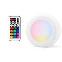 Светодиодные светильники Magic Lights для дома, 3 шт, с пультом
