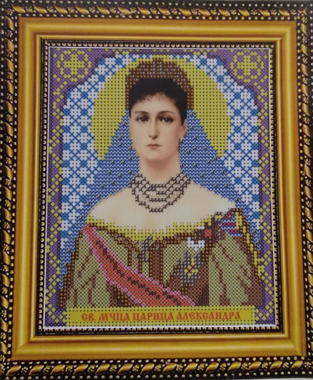 Набор для вышивки бисером ArtWork икона Святая Мученица Царица Александра VIA 5047