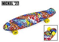 """Penny Board Nickel 27"""" Graffity"""