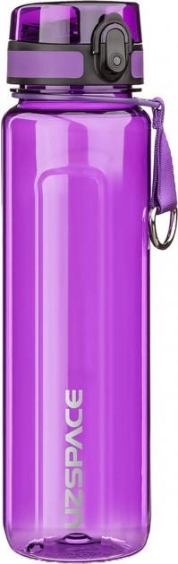 Бутылка для воды UZSPACE U-type 6020 1000 мл, фиолетовая