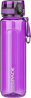 Бутылка для воды UZSPACE U-type 6020 1000 мл, фиолетовая, фото 1