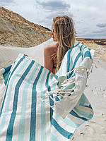 Пляжное полотенце, пляжная подстилка, парео, пляжный коврик, полотенце для бани, полотенце для сауны, фото 1