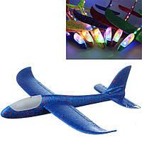 Метательный самолет с подсветкой Toys (06 FA)
