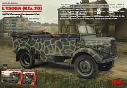 Германский армейский автомобиль Kfz.70,  II МВ