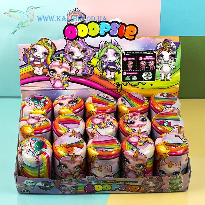 Детская игрушка Пупси Poopsie единорог капсула со слаймом
