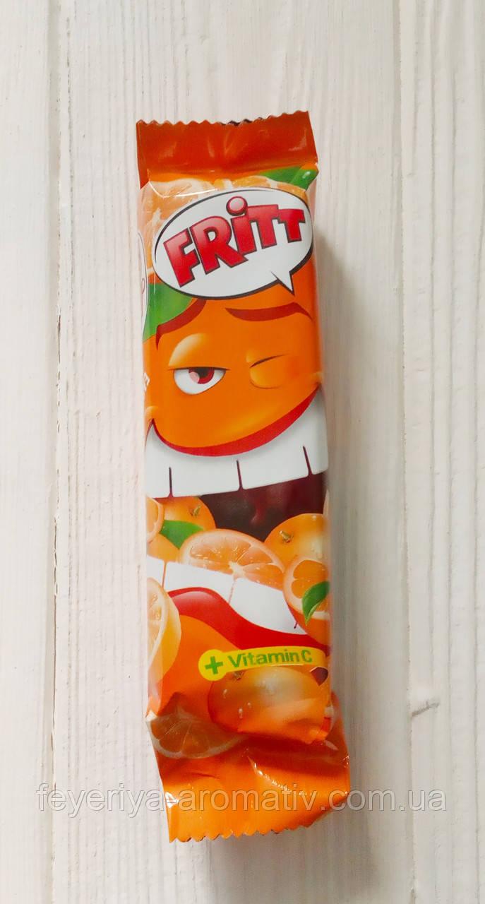 Жевательные конфеты с апельсиновым вкусом и витамином С Fritt 70g (Германия)