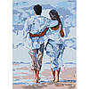 Набір для творчості «Картини за номерами– «Про кохання» 35*50см.