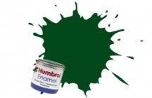 Краска эмалевая HUMBROL зеленая темная (глянцевая)