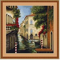 """В240 Набор для вышивания крестом """"Венеция в цветах"""""""