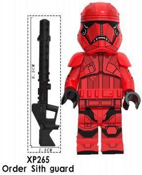 Фігурка Страж Ситхів Першого Ордена Star Wars Зоряні війни Аналог лего
