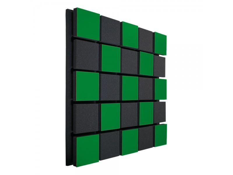 Акустическая панель Ecosound Tetras Acoustic Wood Green 50x50см 73мм Цвет зелёный