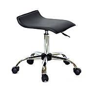 Стілець офісний на коліщатках ABAZ СН-OFFICE еко шкіра , чорний