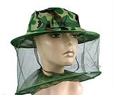 Шляпа с антимоскитной сеткой. Защита от всех видов насекомых и пчел., фото 2