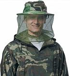 Шляпа с антимоскитной сеткой. Защита от всех видов насекомых и пчел., фото 3