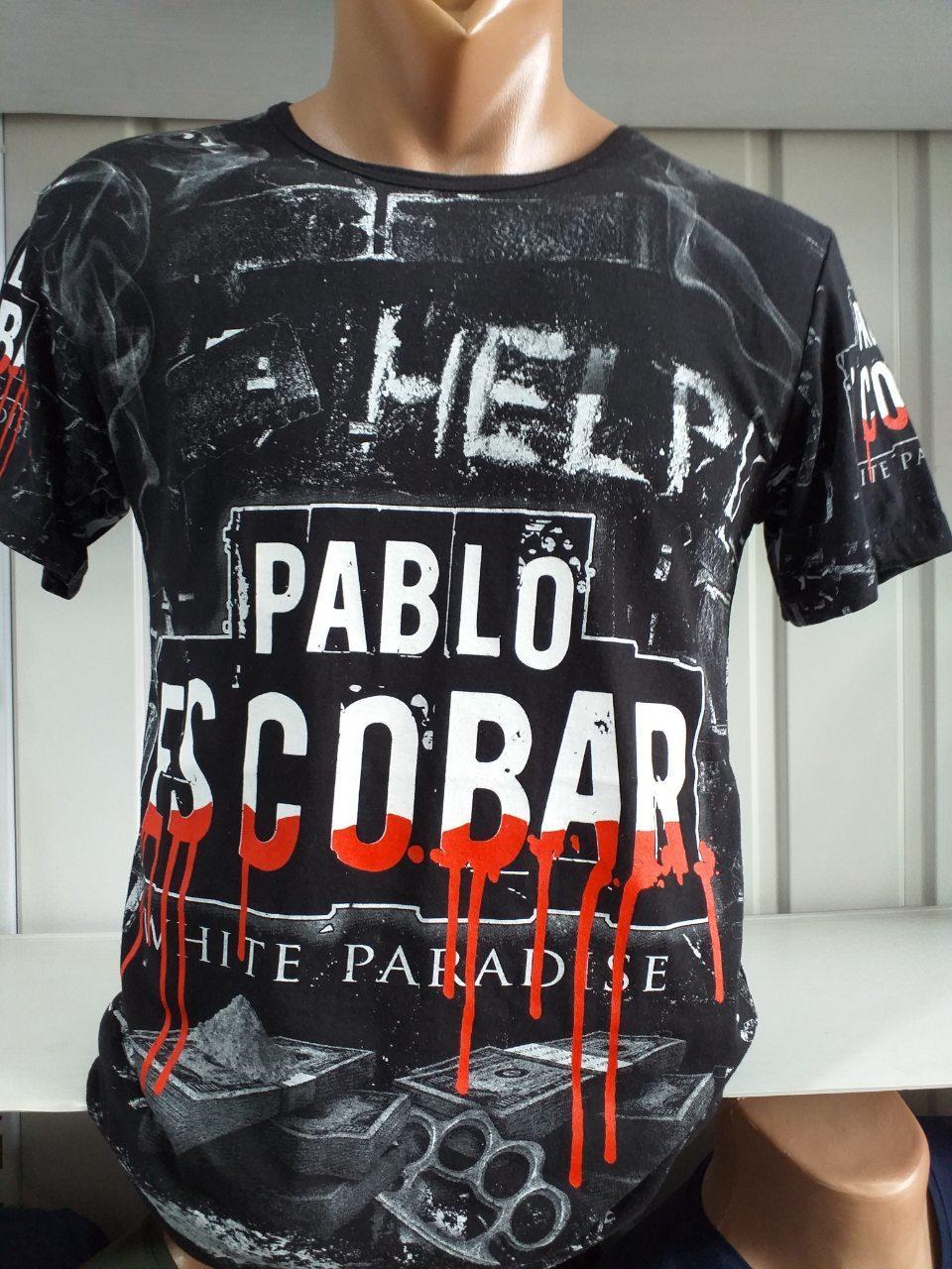 Чоловіча 3д футболка, двостороння, Пабло Ескобар Туреччина