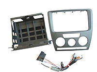 Установочный набор для 1DIN магнитолы для Шкода Октавия А5 Skoda Octavia A5  AZO800002 SkodaMag, фото 1