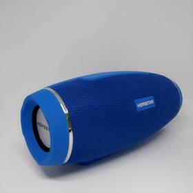 Беспроводная Портативная Вluetooth Колонка Hopestar H27 Синий Спикер (2000 mAh 100-18000 Гц, 10 Вт) USB, AUX, Сабвуфер (46998)