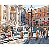 Набір для творчості «Картини за номерами– «Європейські канікули» 40*50см.
