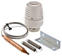 Термостатическая головка с выносным накладным датчиком 20–60 °С, 2 м, Valtec VT.5012.0.0