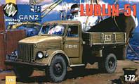 """Сборная модель  """"Польский грузовик Lublin-51 """""""
