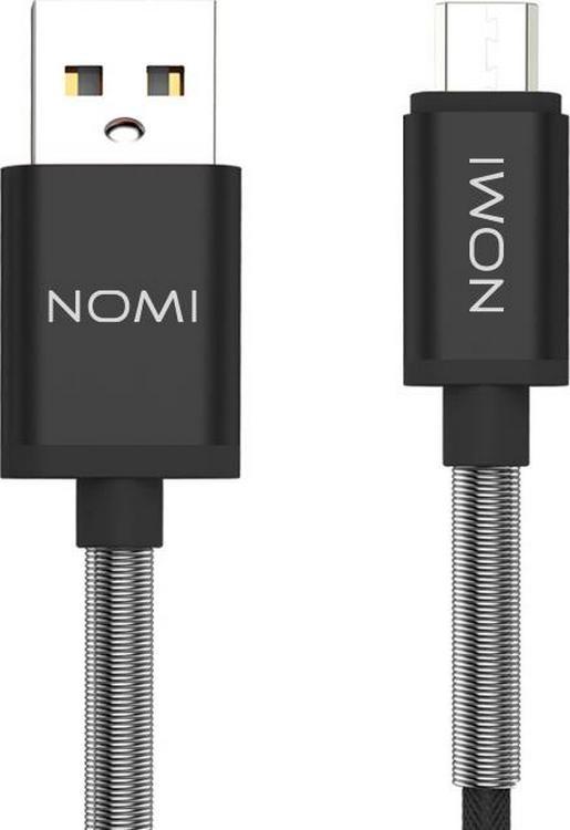 Кабель Nomi DCMQ 10m USB micro 1м Bk