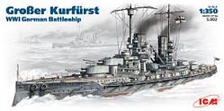 """Немецкий линкор """"Grosser Kurfurst"""""""