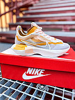 "Женские  кроссовки Nike Vista Lite""SE Grey Yellow White(Топ качество)"