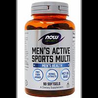 Now Foods Men's Active Sports Multi - 90 Софт Гель, фото 1