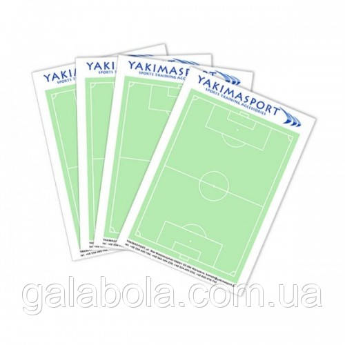 Блокнот футбольный для тренера Yakimasport