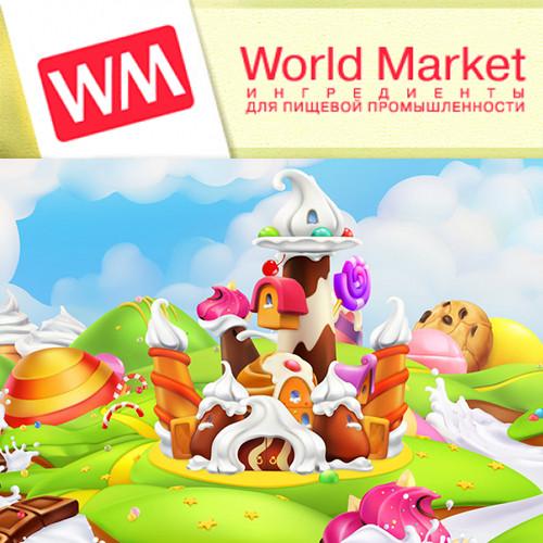 """Ароматизатор World Market """"WM"""" кондитерские вкусы (10 мл.)"""