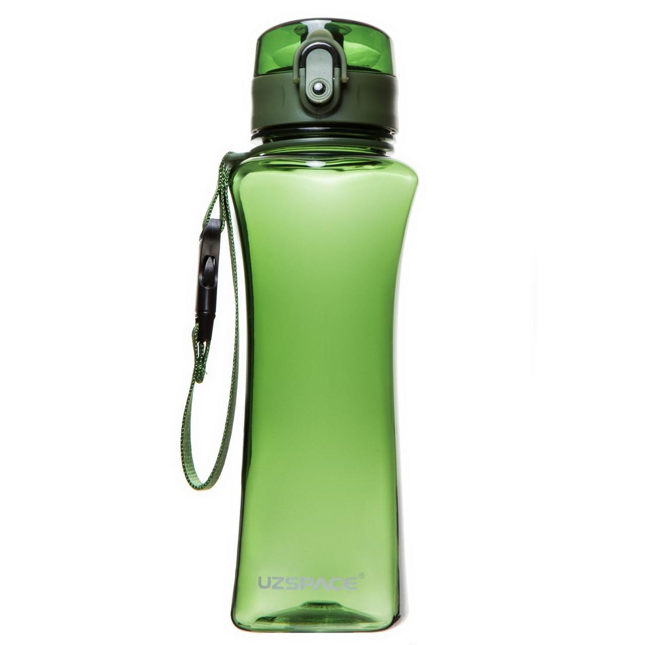 Бутылка для воды UZSPACE 6006 500 мл, зелёная