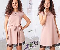 Платье летнее под пояс