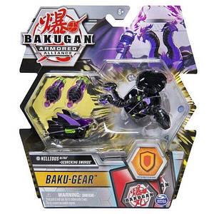 Bakugan Armored Alliance: Боевой Ультра бакуган с оружием Ниллиус ( Nillious) Spin Master