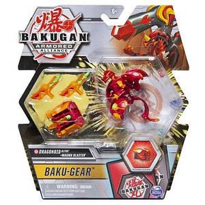 Bakugan Armored Alliance: Ультра бакуган с оружием Драгоноид (Dragonoid) Spin Master