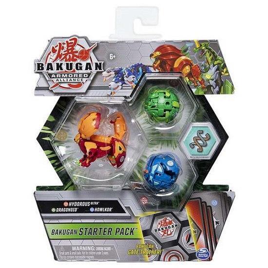 Bakugan Armored Alliance: Набор из трех бакуганов Гидориус Пайрус (Hydorous Pyrus) Spin Master