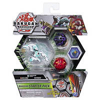 Bakugan Armored Alliance: Набор из трех бакуганов Трокс Хаос (TROX ultra) Spin Master