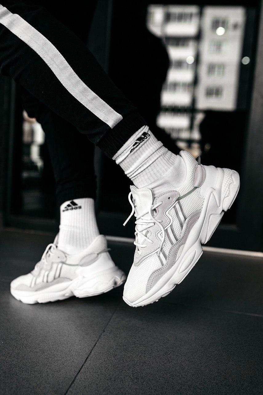 Кроссовки мужские Adidas Wmns Ozweego Cloud White