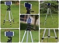 Штатив для фотоаппарата и телефона трипод 3110  с чехлом