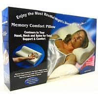 Ортопедическая подушка с памятью memory foam pillo.