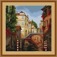 """В202 Набор для вышивания крестом """"Венеция"""""""
