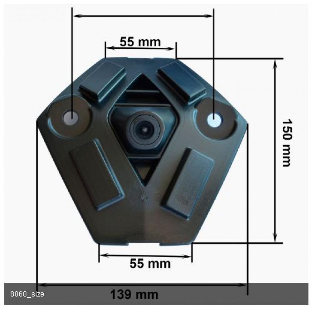 Камера переднего вида Prime-X С8060 RENAULT Koleos (2014 — 2015)